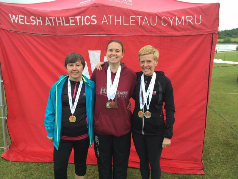 Lliswerry Ladies Medal Glory at Welsh 5K Road Champs